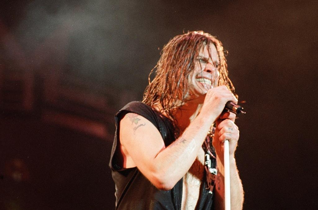 Show de Ozzy Osbourne no estadio do Pacaembu em São Paulo (02.09.1995)