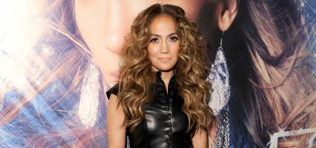 Jennifer Lopez em evento de promoção do disco