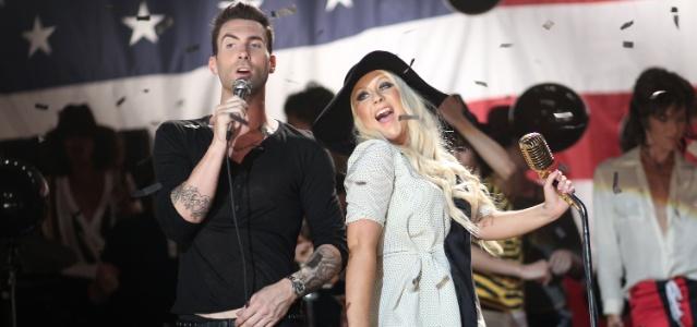 Adam Levine e Christina Aguilera filmam clipe da música