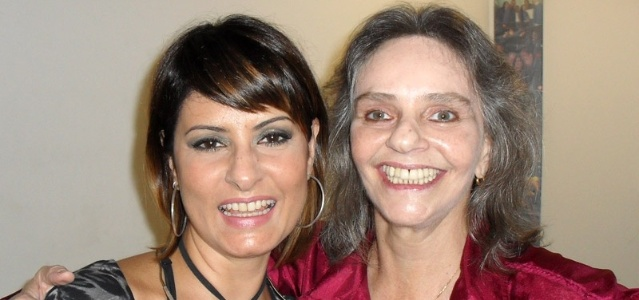 As cantoras Fernanda Abreu e Angela Ro Ro