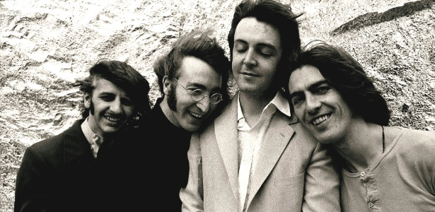 Os Beatles em foto de 1968. Cidade britânica de Liverpool se prepara para comemorações dos 50 anos de Love Me Do
