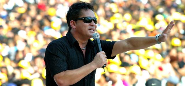 O cantor Leonardo (01/05/2006)