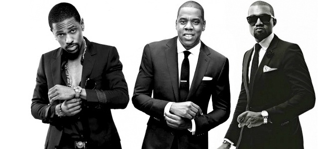 Big Sean, Jay-Z e Kanye West