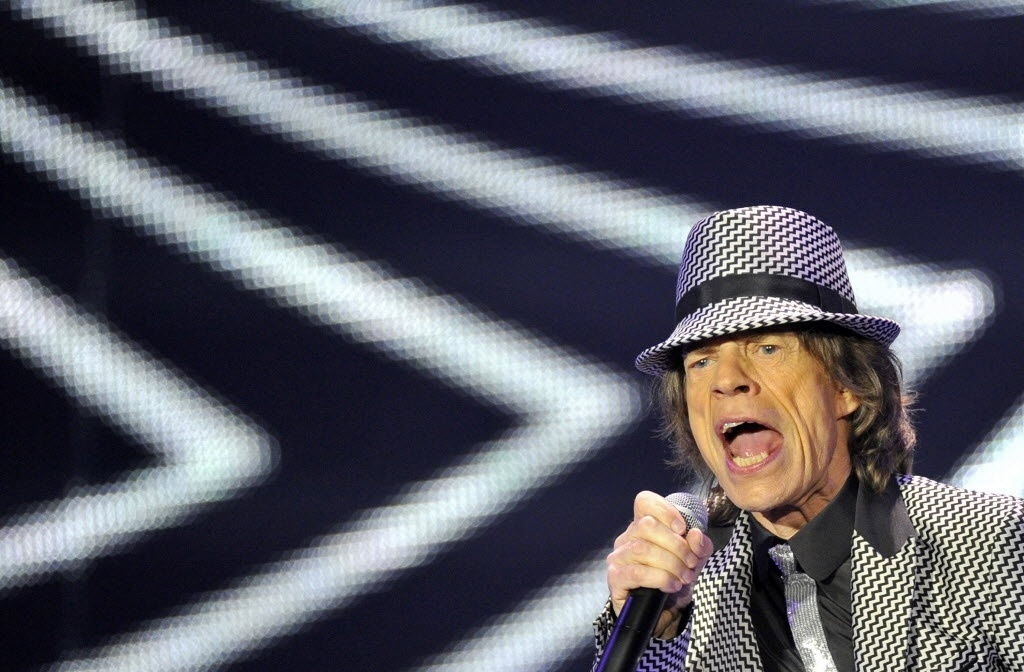 O vocalista dos Rolling Stones, Mick Jagger