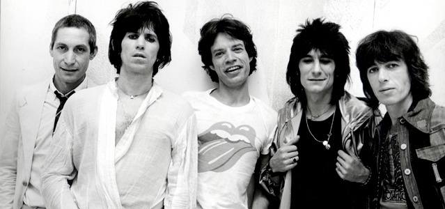 Os Rolling Stones no final da década de 70