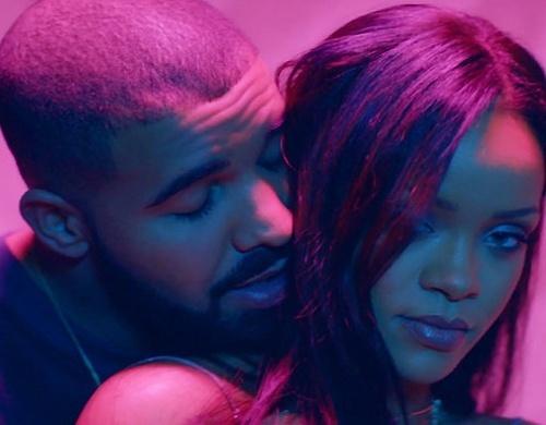 Rihanna e Drake no clipe da música