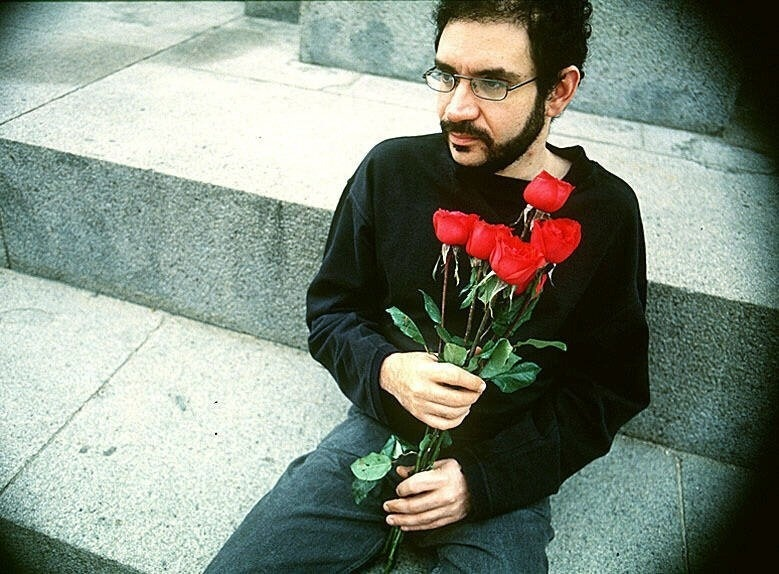 O cantor e compositor Renato Russo, vocalista da banda Legião Urbana. (17/10/1994)