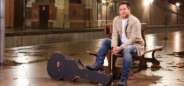 O cantor Leonardo em foto de divulgação