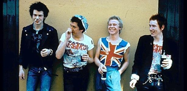 Os Sex Pistols em 1977