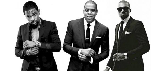 Big Sean, Jay-Z e Kanye West