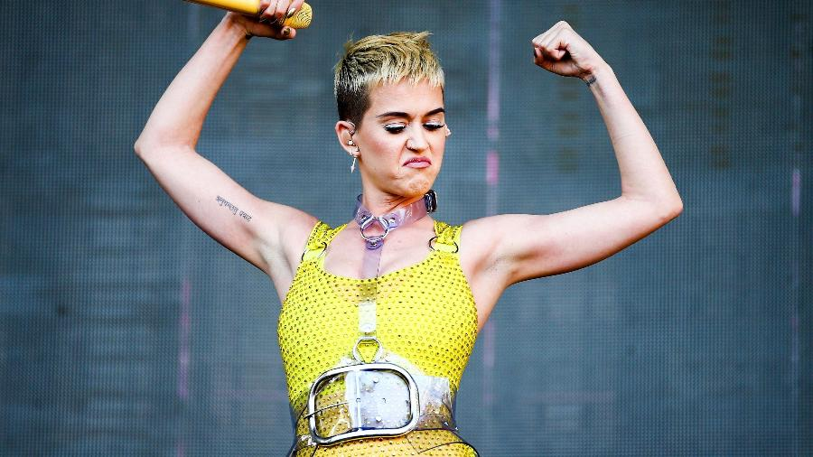 A cantora americana Katy Perry  - Rich Fury/AFP Photo/Getty Images